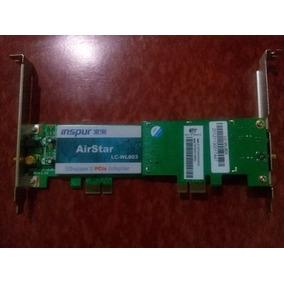 Tarjeta De Red Wifi Inspur Airstar (funciona Como Router)