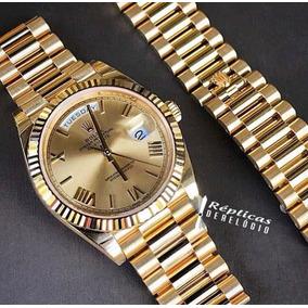 4d240b29293 Relógio Rolex Dourado Presidente Day Date Automático