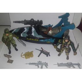 Comandos Soldier Force Chap Mei Lanchas Bonecos Acessórios