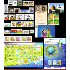 2012 - Ano Completo - 50 Selos E 7 Blocos - Novos Mnh