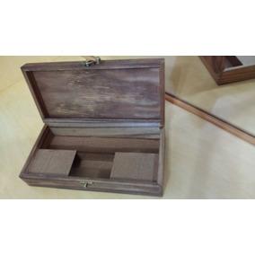 45126724eb4 Caixa Metal Com Senha - Caixas de Madeira no Mercado Livre Brasil