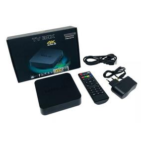 Smart Tv Box 4k Android - Somos Loja - Com Nota Fiscal