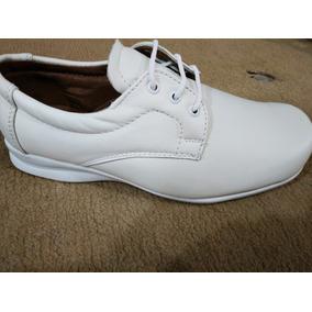 Zapato De Enfermeria 100% Piel Ternera Forro Piel