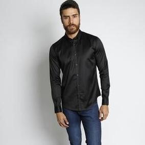 Camisa Vide Bula Classic Lisa. - Preta - G f17cbb25f101d