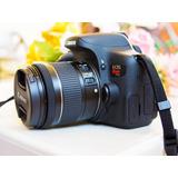 Camara Profesional Canon T6i Muy Buenas Condiciones!