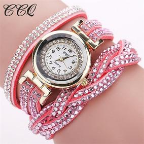 f8bf108946 Relogio Infantil Com Stras Frozen Rosa - Relógios De Pulso no ...