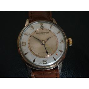 fb7a87c7559 Relogio Lanco Antigo Ouro - Relógios no Mercado Livre Brasil