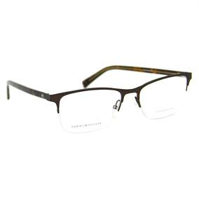 Armação Tommy Hilfiger Th 1136. Hastes Imitando Madeira - Óculos no ... 03716f1f81