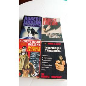 Robert Ludlum A Identidade Bourne E Mais 3 Livros