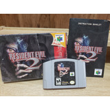 Resident Evil 2 N64 Nintendo 64 Caja E Instructivo