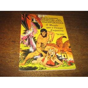Tarzan O Mundo Que O Tempo Esqueceu Ebal 1974 Russ Manning
