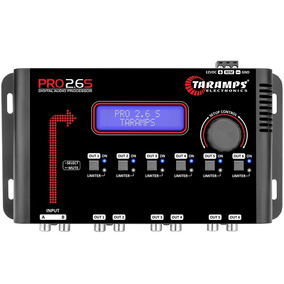 Processador Audio Taramps Pro 2.6s 6 Saída Digital Mesa Som