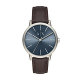 Relógio Armani Exchange Basic Prata Ax2704 0mn + Nota Fiscal d256f09d74