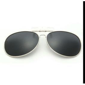 c96eda2715ba5 Lentes Clip-on Polarizado Uv400 Clipon Aviador Para Óculos