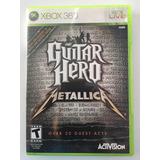 Guitar Hero Metallica Para Xbox 360 Juego Seminuevo