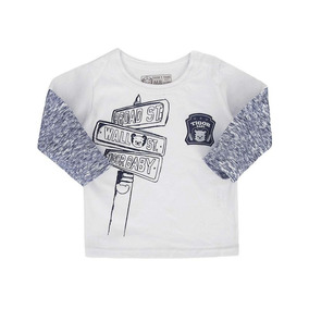 Camiseta Manga Longa Sobreposta Tigor T. Tigre 10202231 3abe30f33686f