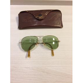... Masculino feminino Dourado . Imp.usa · Óculos Ray-ban Relíquia 1942  Impecável. R  5.000 66b1f9decf