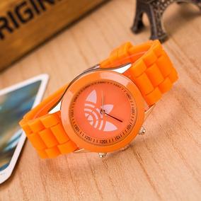 Relógio Feminino adidas Pulseira De Silicone
