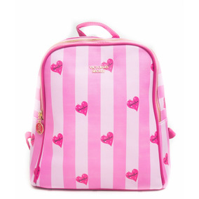 Bolsa Victoria s Secret Mochila Maleta Backpack Casual e71cad4b1ef61