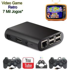 Vídeo Game Retro 32gb C/ 2 Controles Em 12x Sem Juros
