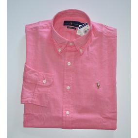 Camisa Social Polo Ralph Lauren Tamanho G / L Classic Fit