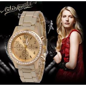 a36ccf3ec05 Relogio Brilhante Feminino Com Pedras - Relógios De Pulso no Mercado ...