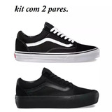 Kit Vans Old Skool 2 Pares Foto Original Frete Gratis