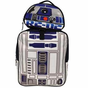 R2d2 Star Wars Mochila Backpack Con Lonchera Nueva