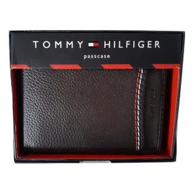 Tommy Hilfiger Cartera Hombre Caballero Café 100% Original