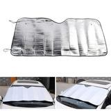 Cortina Plegable Parasol Frontal Oregon Aluminio Auto