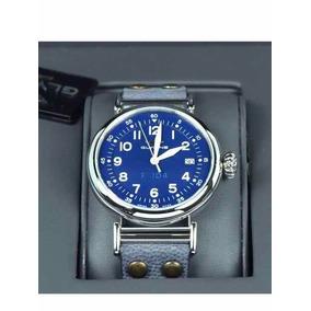 Oferta Relógio Glycine F104 Azul 48mm Novo Original Gl0127