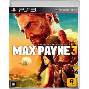 Max Payne 3 Ps3 Original Completo Mídia Física Em Português