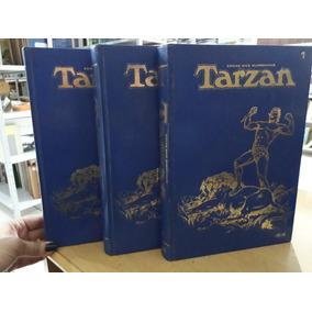 Coleção Tarzan Encadernado - 3 Volumes (30 Revistas) / Ebal