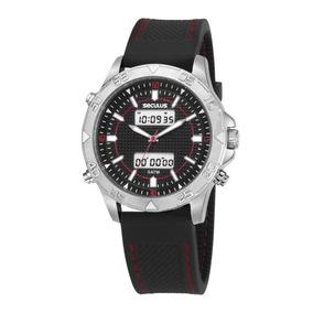 Relógio Masculino Seculus 20618g0svni1 Promo Verão