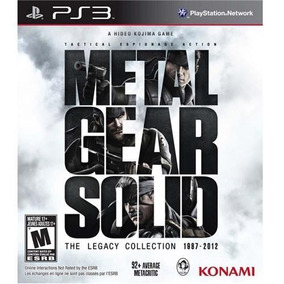 Metal Gear Solid: The Legacy Collection Ps3 1987-2012
