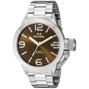Reloj Hombre Tw Steel Plateado Acero Inoxidable Envio Gratis