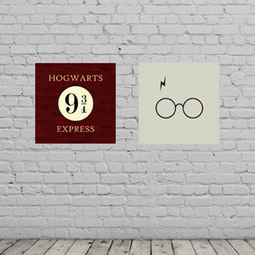 Poster Harry Potter Kit Sem Juros