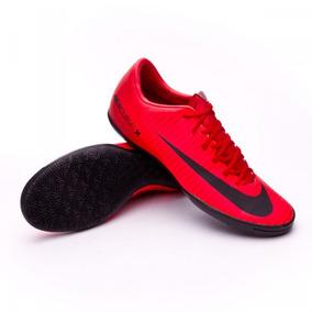 6fb9615416 Chuteira Nike Mercurial Vermelha Futsal - Chuteiras Nike de Futsal ...