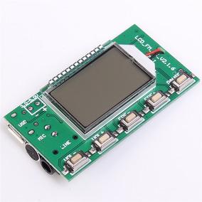 Transmissor Fm Módulo Display Digital Estereo Pll 87-108 Mhz