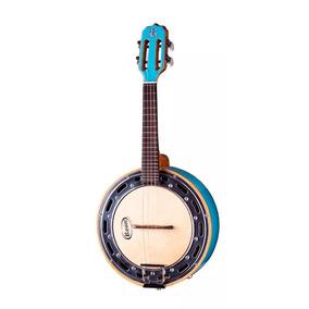 Banjo Rozini Rj-11 Studio Caixa Larga Elétrico Azul - Riff