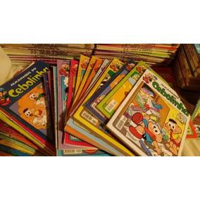 Lote 50 Almanaques Mônica,chico,cebolinha,magali A Escolher