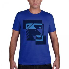 8400bb65f Camiseta Masculina Bf   ms Horse Azul Royal Cm185