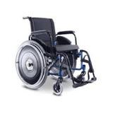 Cadeira Rodas Avd Alumínio Ortobras, Assento 38 A 50 Cm