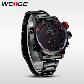 Relógio Weide Original Em Aço