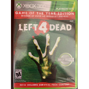 Jogo Left 4 Dead Game Of The Year Xbox 360