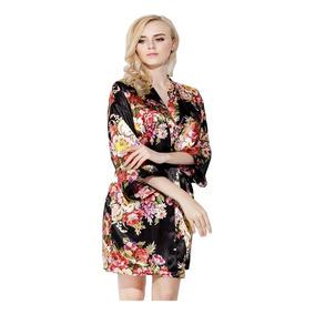 Robe De Cetim Japonesa - Moda Íntima e Lingerie no Mercado Livre Brasil d3c01c203f5