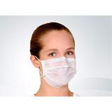 Máscara Dupla Com Elástico Pacote Com 100 Unidades