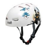 Capacete Kraft Bike Fantasminha P Skate Patins - Nbr16175 f1c35ab960d