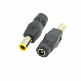Adaptador Conversor Plug 5,5x2,5mm Para Lenovo Plug Redondo