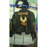 Chamarra Motociclista Imitacion H-d